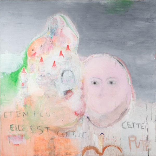 La constipation affective, 200 x 200 cm, 2012