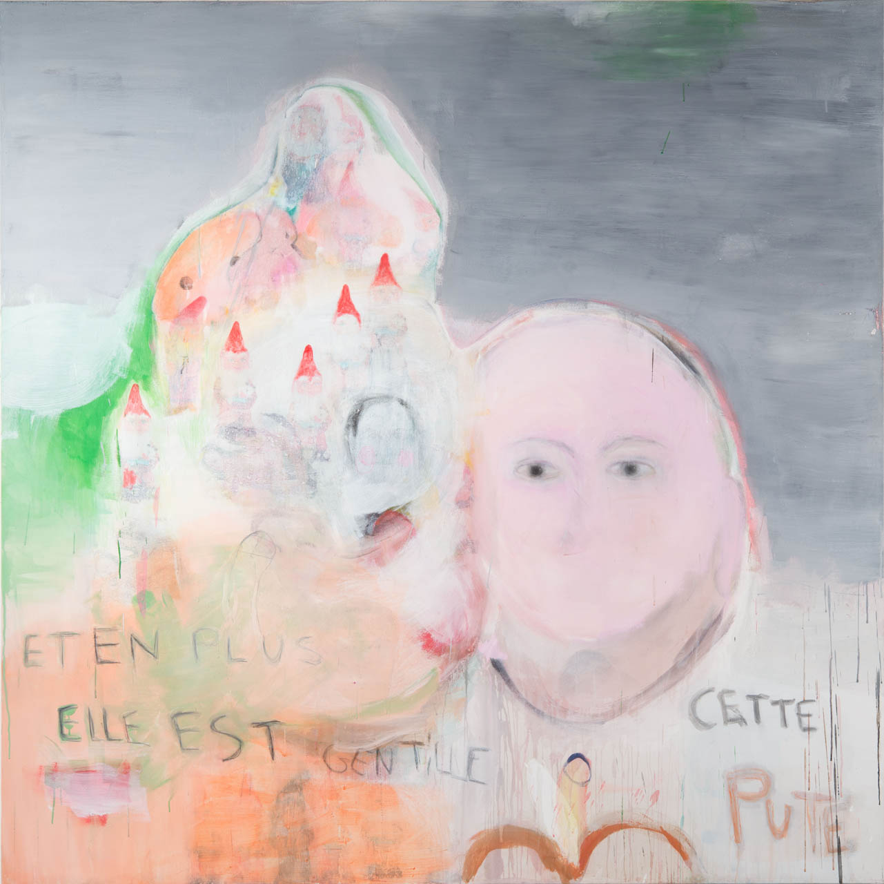 La constipation affective, 200 x 200 cm, 2012