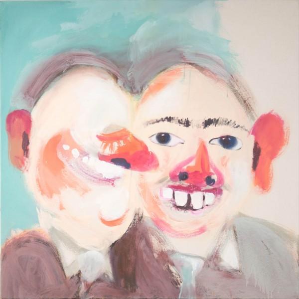 Les petits cochons, 100 x 100 cm, 2010