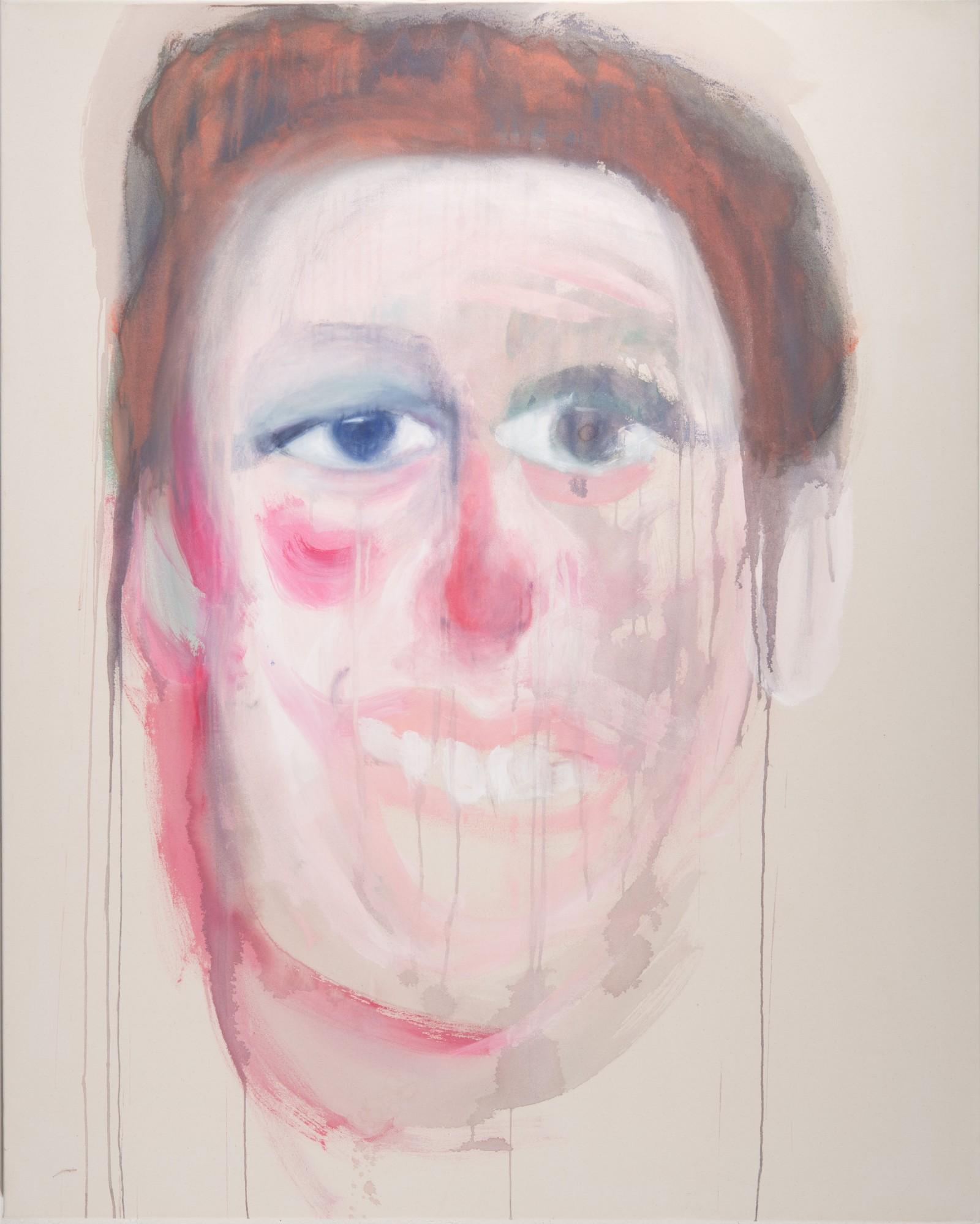 La fatigue d'être soi 1,162 x 100 cm, 2010