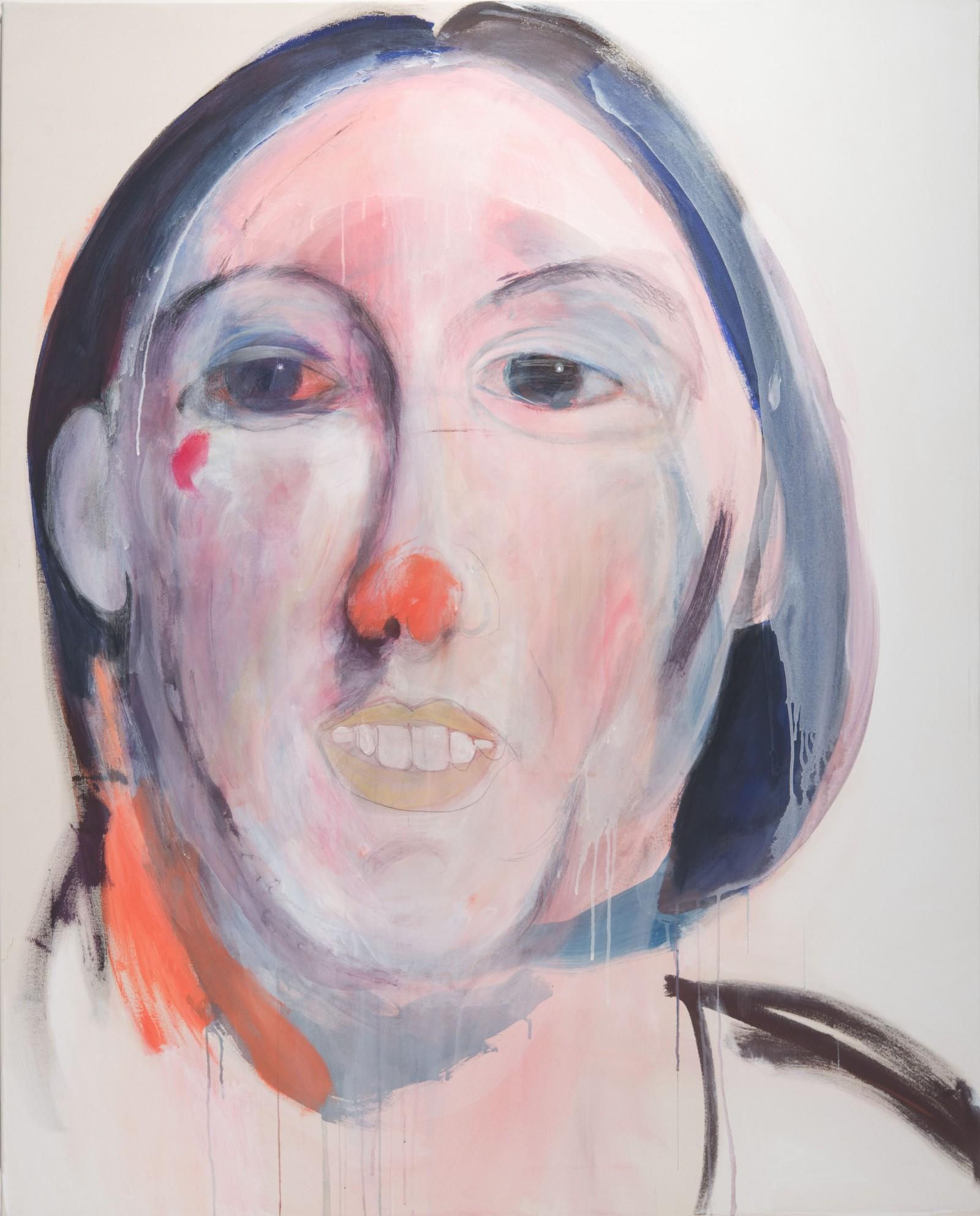 La fatigue d'être soi 2,162 x 100 cm, 2010