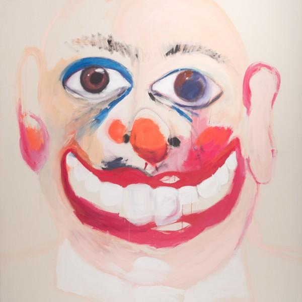Le clown, 250 x 180 cm, 2010