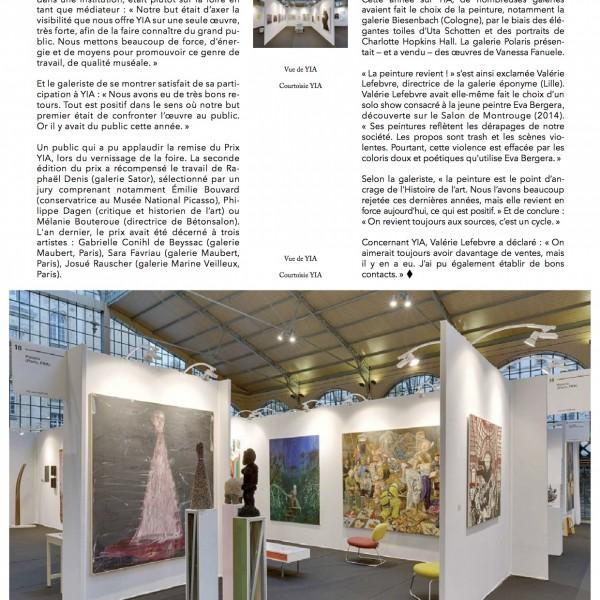 AMA − Art Média Agency # 226 − 5 novembre 2015