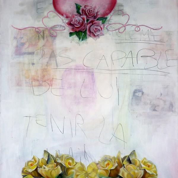 Et mon coeur à la fête, 116 x 89 cm, 18092015